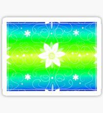 Flowery Swilrs Sticker