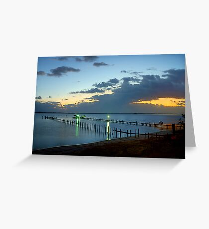 Sunrise On Indian River Greeting Card