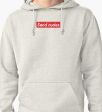 Send Nudes Pullover Hoodie