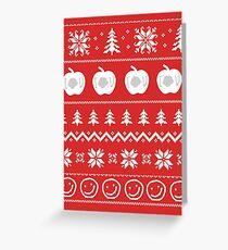 Sherlock Ugly Christmas Sweater Greeting Card