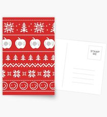 Sherlock Ugly Christmas Sweater Postcards