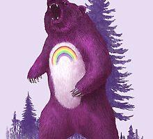 Scare Bear  by Terry  Fan