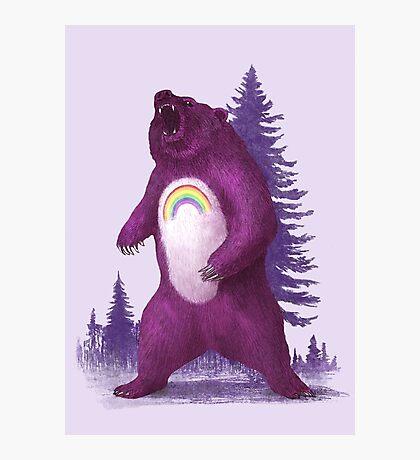 Scare Bear  Photographic Print