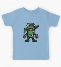 Coffee ninja or ninja coffee? -  green Kids Tee