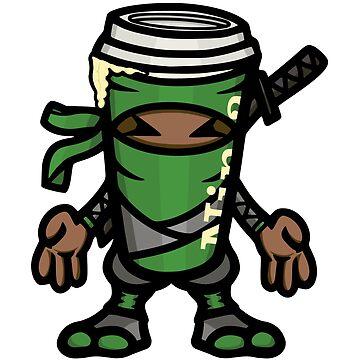 Coffee ninja or ninja coffee? -  green by hoofster