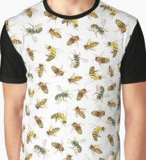 Honey to the Bee (White) Graphic T-Shirt