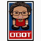 Nerdbot Politico'bot Toy Robot 1.1 by Carbon-Fibre Media