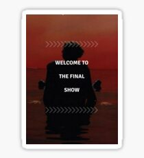 "Harry Styles - ""Welcome to the Final Show"" Sticker"