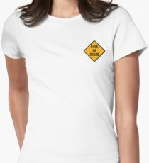 Babe On Board Womens Fitted T-Shirt