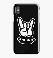 Too Much Metal! Hand Sign iPhone Case