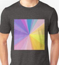 color circle spectrum mix Unisex T-Shirt