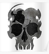 Reckless Skull Poster