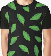 Leaf It To Me (Black) Graphic T-Shirt