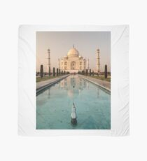 Taj Mahal Reflection India Scarf
