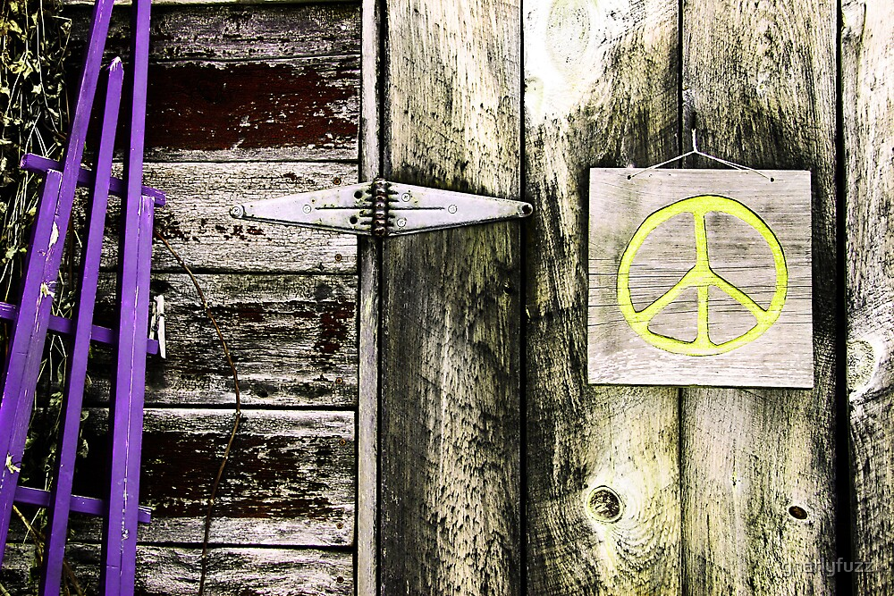 Vintage Peace by gnarlyfuzz
