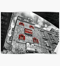 Four Windows and a Balcony  Poster