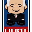 Ernest Politico'bot Toy Robot 2.0 by Carbon-Fibre Media