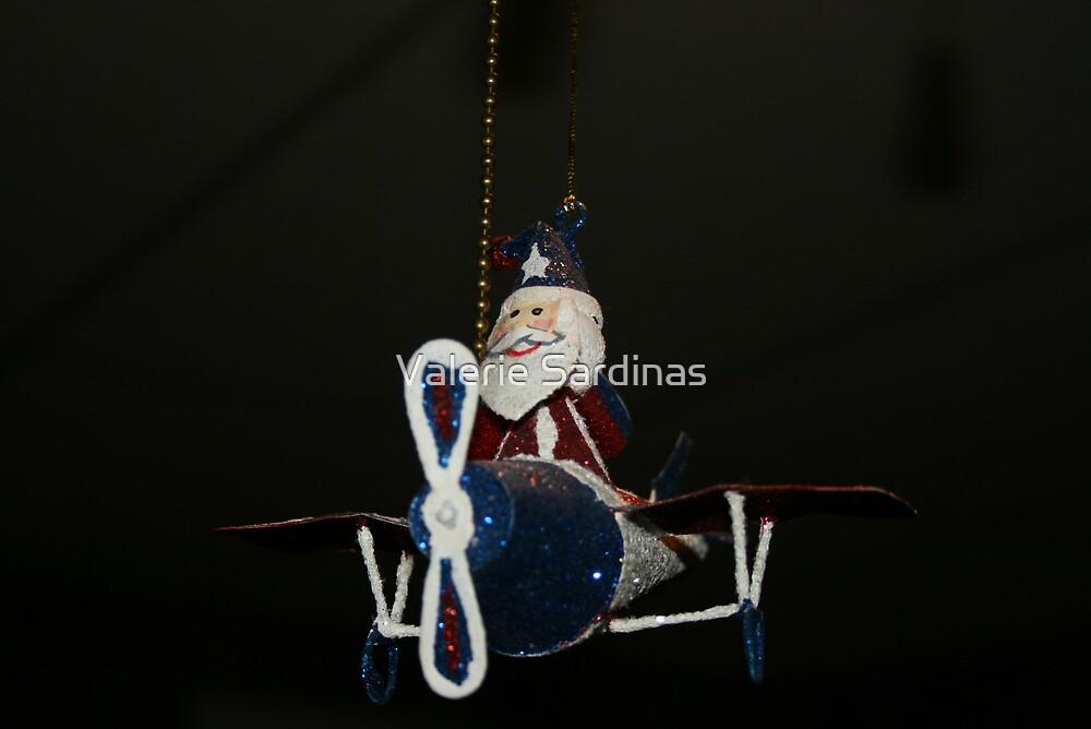 Here comes santa by Valerie Sardinas