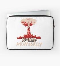 Bomb Atomically Laptop Sleeve