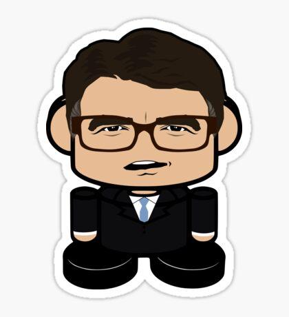 Jimmy Rick Politico'bot Toy Robot 1.0 Sticker