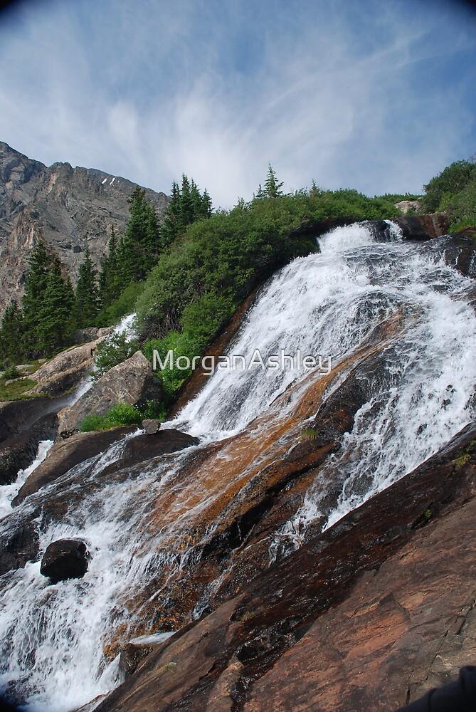 Waterfall 1 by MorganAshley