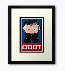 Romneybot Politico'bot Toy Robot 1.1 Framed Print