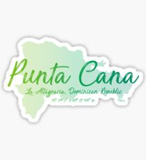 Punta Cana, Dominican Republic Sticker