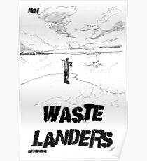 Waste Landers Comic Book Cover Poster