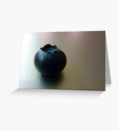 The blueberry Greeting Card