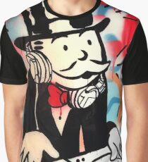 DJ Rich Uncle Pennybags 2 Graphic T-Shirt