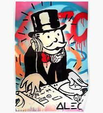 Póster DJ Rich Uncle Pennybags 2