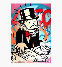 DJ Rich Uncle Pennybags 2 Photographic Print