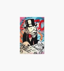 DJ Rich Uncle Pennybags 2 Art Board