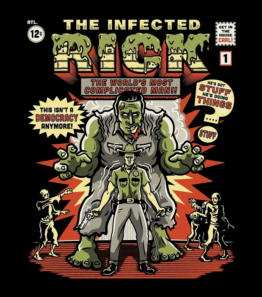 The Infected Rick by CoDdesigns