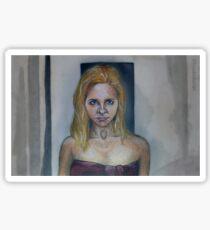 Who Are You? - Buffy/Faith - BtVS Sticker