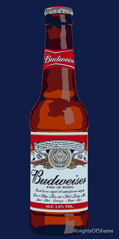Budweiser Bottle by KnightsOfShame
