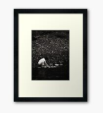 searching for the lost Framed Print