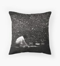 searching for the lost Throw Pillow