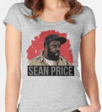 SEAN PRICE  Women's Fitted Scoop T-Shirt