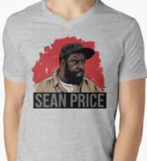 SEAN PRICE  Men's V-Neck T-Shirt