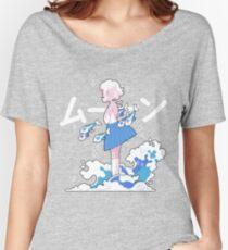 WISHIWASHI pinekid Women's Relaxed Fit T-Shirt
