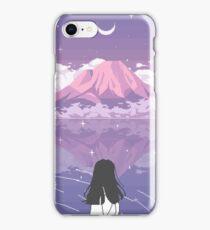PIXEL 富士山 iPhone Case/Skin