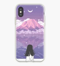 Vinilo o funda para iPhone PIXEL 富士山