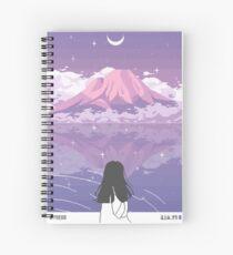 PIXEL 富士山 Spiral Notebook
