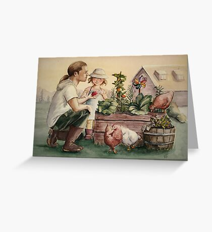 The Veggie Patch Greeting Card