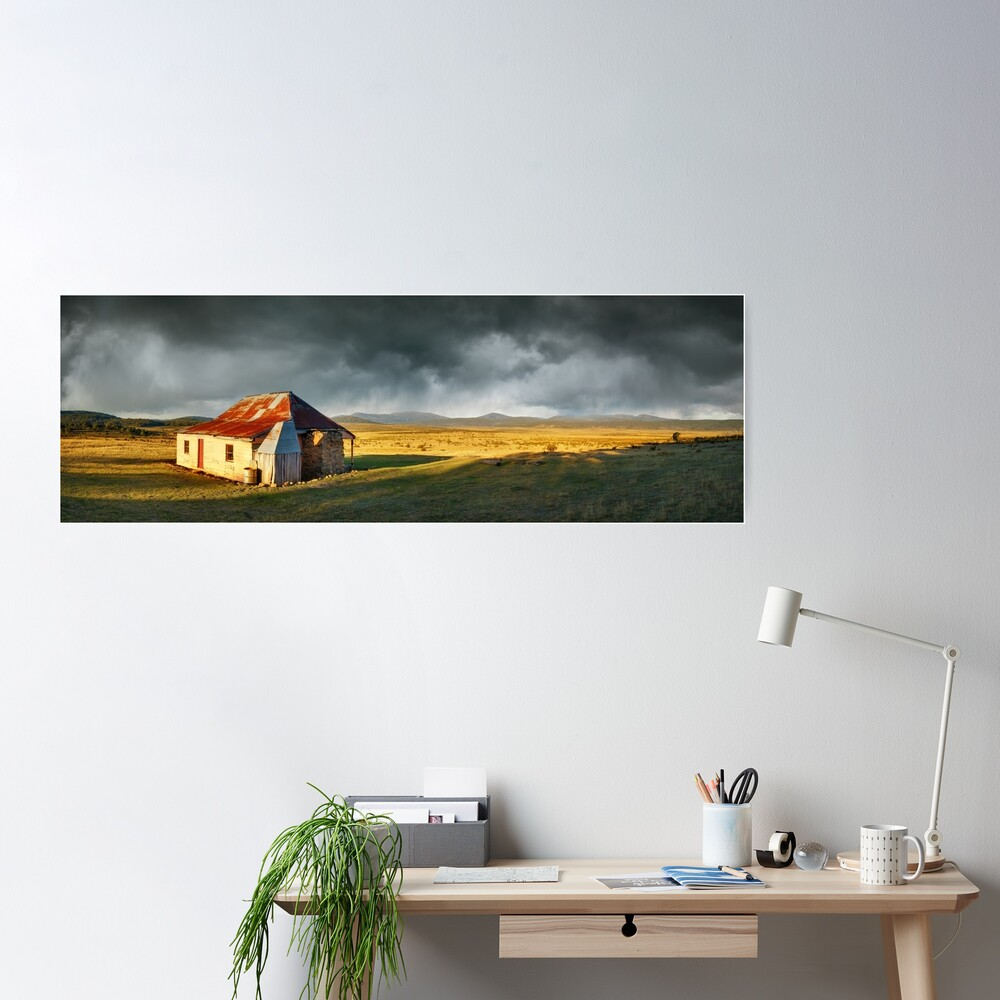 Old Currango Homestead, Kosciuszko National Park, New South Wales, Australia Poster