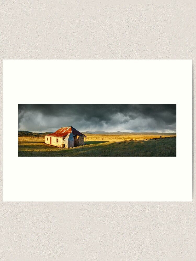 Alternate view of Old Currango Homestead, Kosciuszko National Park, New South Wales, Australia Art Print