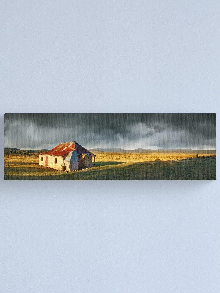 Alternate view of Old Currango Homestead, Kosciuszko National Park, New South Wales, Australia Canvas Print