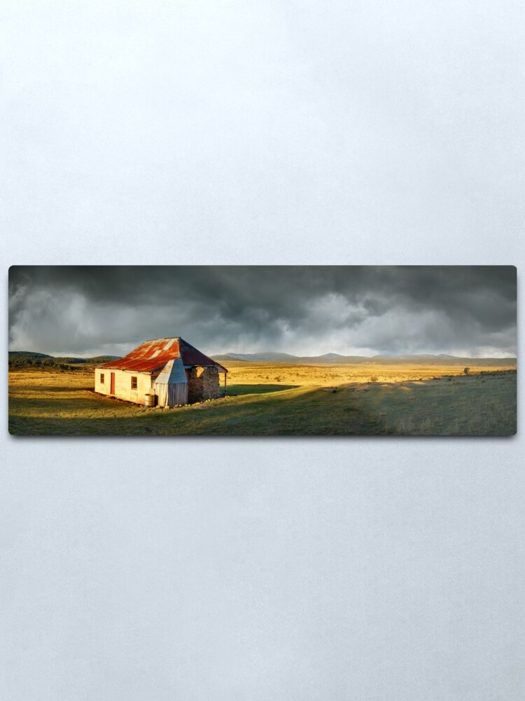 Alternate view of Old Currango Homestead, Kosciuszko National Park, New South Wales, Australia Metal Print
