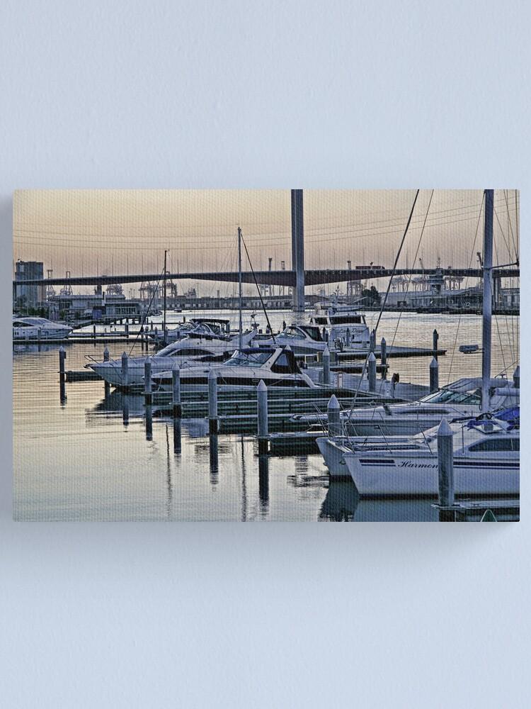 Alternate view of Melbourne - Docklands Canvas Print